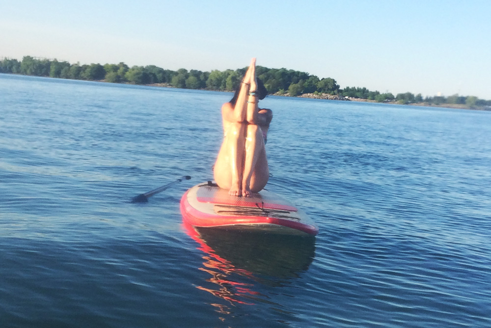 Discover Yoga on the Water