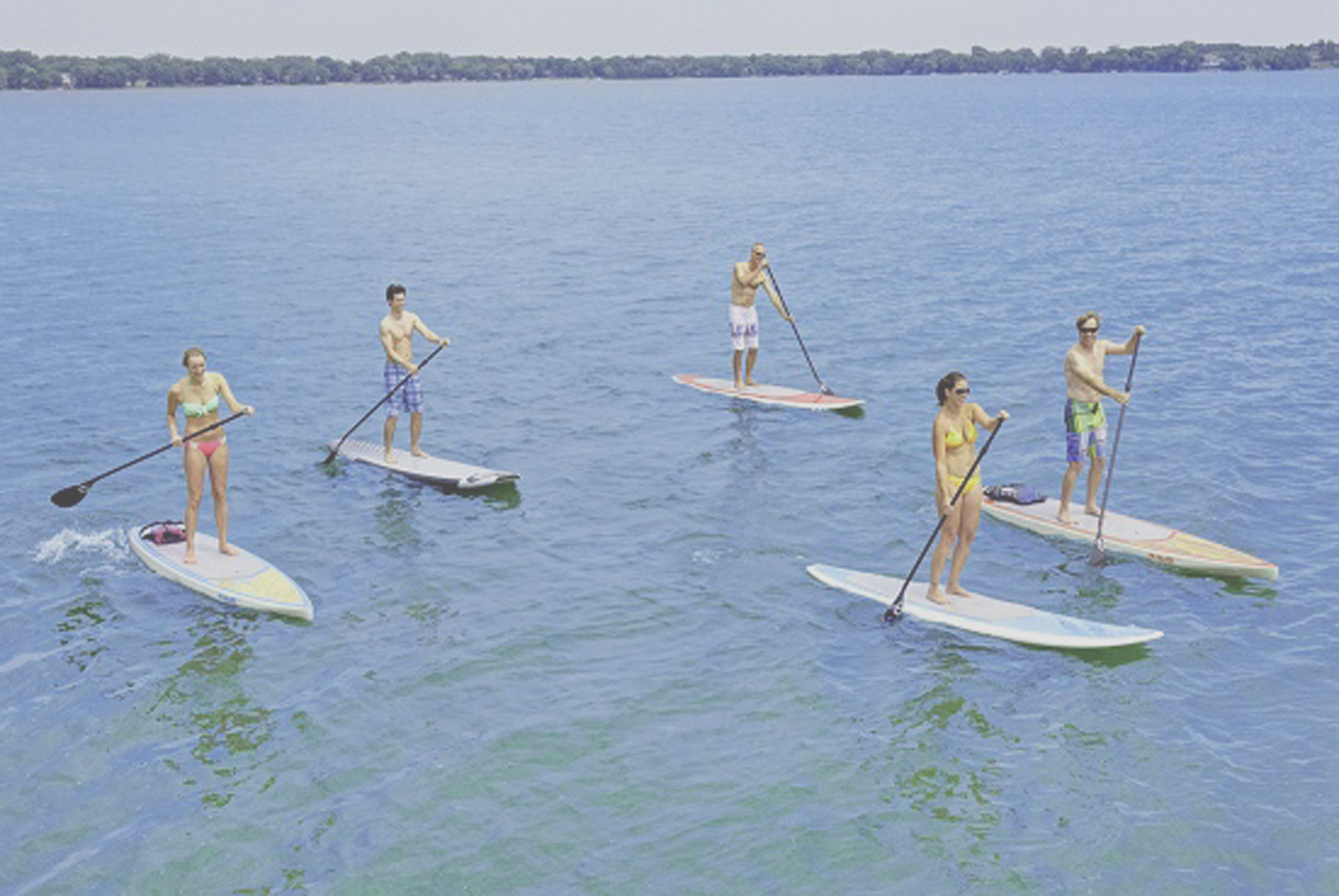 Paddleboarding Training